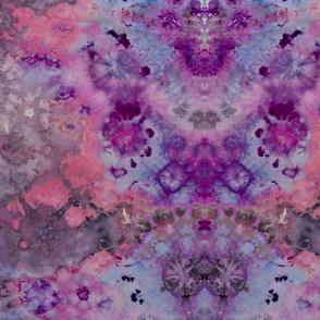 kaleidoscope in purple and pink