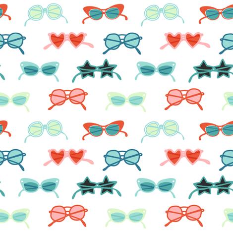Sunglasses fabric by tasiania on Spoonflower - custom fabric