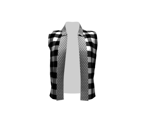Modern Large Gingham with a Twist