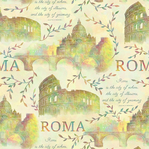 Romewatercolor