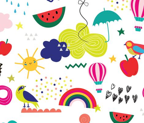 Magic fabric by printlove on Spoonflower - custom fabric