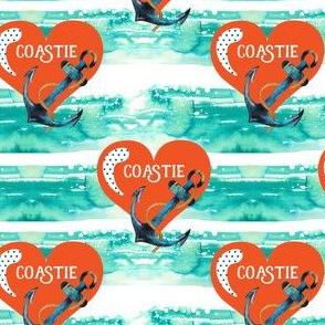 Coastie / Blue Stripes