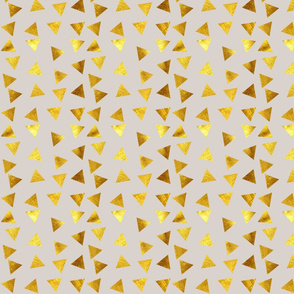 Gold Triangle grey