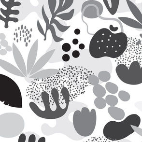 My mysterious Garden_black&white