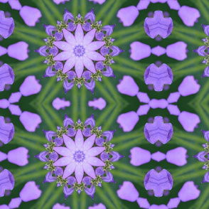 Purple Flower Kaleidoscope