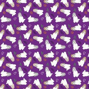 Tiny Petit Basset Griffon Vendeen - Halloween