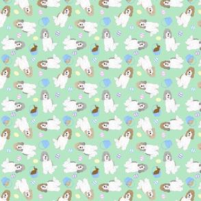 Tiny Petit Basset Griffon Vendeen - Easter