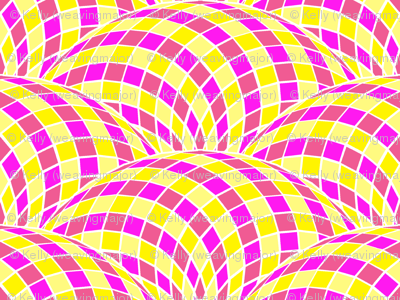 twisted scallop - pink lemonade