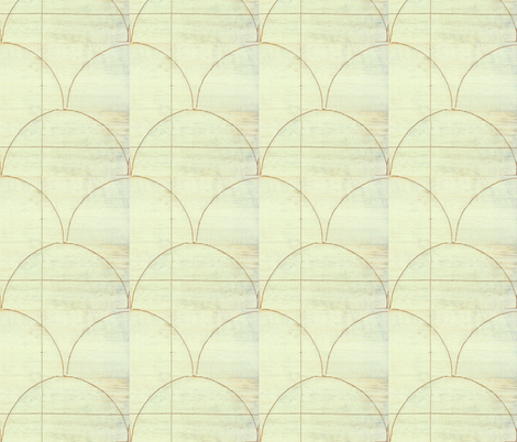 cloudy sky (detail) fabric by hypersphere on Spoonflower - custom fabric