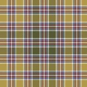 Jacobite tartan, ancient yellow 6""