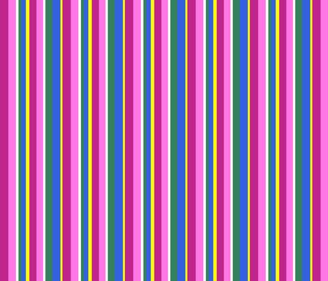 Grecian_windflower_stripe_4x4 fabric by leroyj on Spoonflower - custom fabric