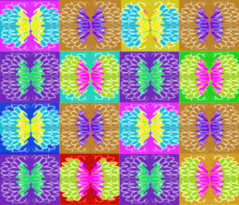 Soft_Butterflies__ fabric by soobloo on Spoonflower - custom fabric