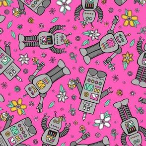 Robot Spring (Pink)