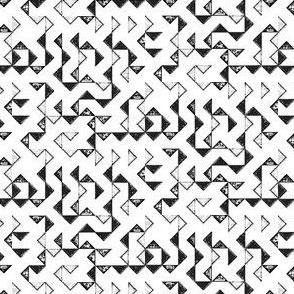 Triangle b/w