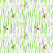 Bees and Lavender