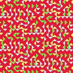 Triange red