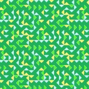 Triange green