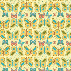 meadow teal butterfly
