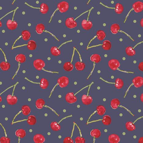 Cheerful_Cherries fabric by samantha_w on Spoonflower - custom fabric