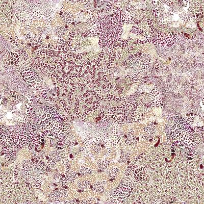 Leopard Spots in Earthtones SMALL
