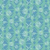 indian summer blue green