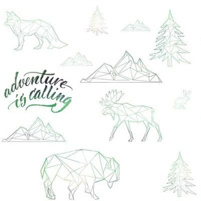 "8"" ADVENTURE IS CALLING / WOODLAND FRIENDS"