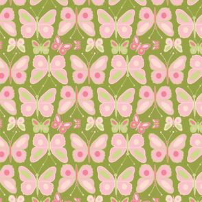 meadow pink butterfly