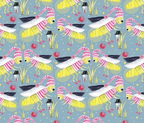Firefly fabric by cathleenbronsky on Spoonflower - custom fabric