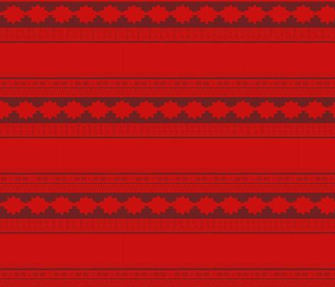 polynesian island princess (sized for toddlers/children) fabric by handiycraft on Spoonflower - custom fabric