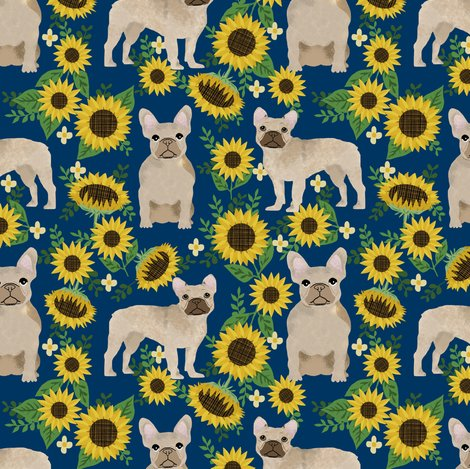 Rfrenchie_sunflower_navy_shop_preview