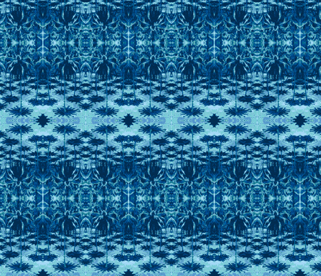 12 o'clock shadows-2-blu fabric by kae50 on Spoonflower - custom fabric