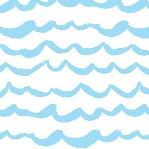 Playful Patterns - Waves of Wonder Blue
