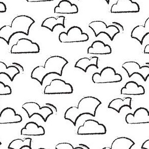 Playful Patterns - Clouds Lined