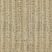 seamless handwritten sheet music by Carl Wilhelm