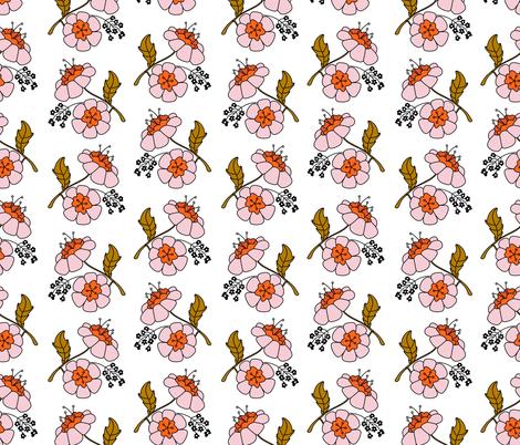 Grandma Flowers fabric by bashfulbirdie on Spoonflower - custom fabric