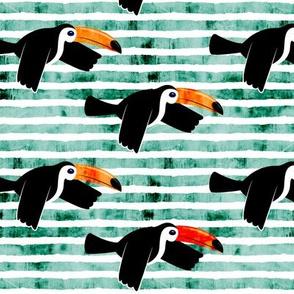 toucan - green