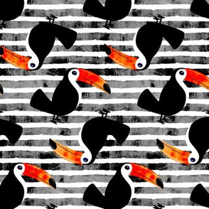 toucan - grey (standing)