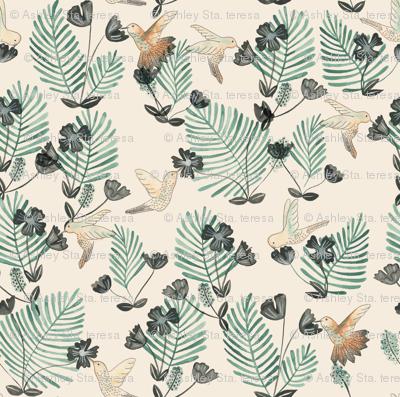 Hummingbird_Pattern