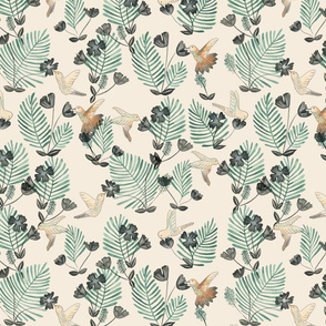Hummingbird_Pattern