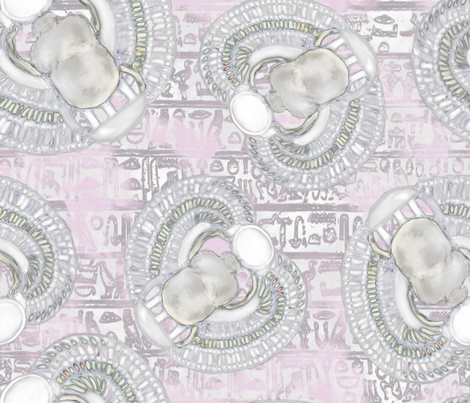 Cleopatra's Jewels fabric by snidgy's_designs on Spoonflower - custom fabric