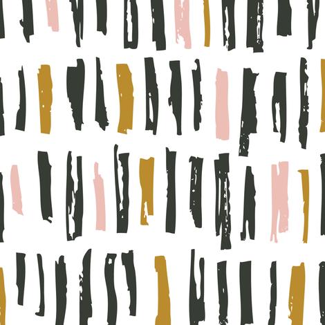 brush_pattern_3colors fabric by yuliia_studzinska on Spoonflower - custom fabric