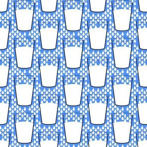 Milk on Blue