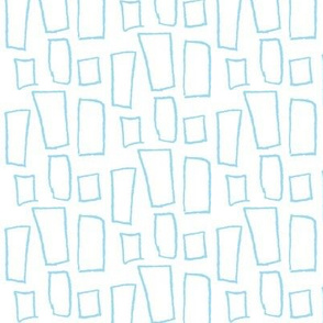 Playful Patterns - Block Blue