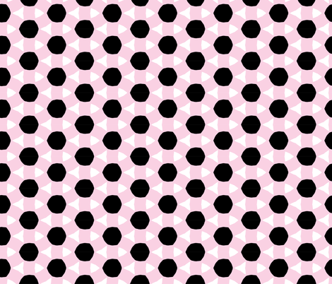 Playful Patterns - Allsorts Pink fabric by kooki_studio on Spoonflower - custom fabric