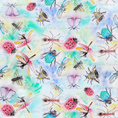 Whimsical Insects