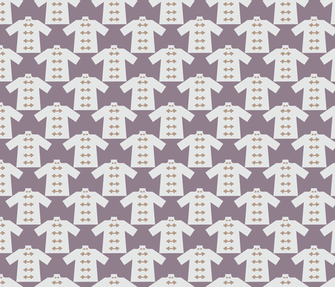 Palace Grounds Ginger Mr. Lee fabric by margiecampbellsamuels on Spoonflower - custom fabric