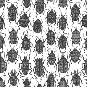 Bettle Madness Grayscale