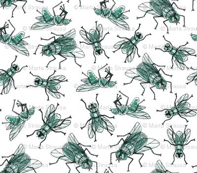 Green flies