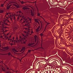Mystic Mandala - Hot Safran