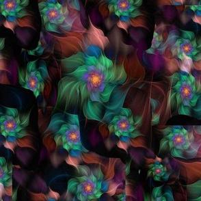 Fractal Flower Pattern